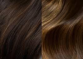 натуральное осветление волос