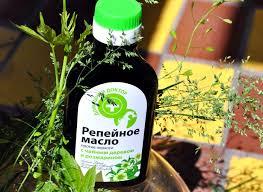 Помогает ли репейное масло от перхоти?