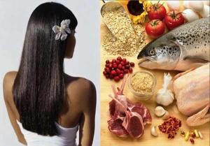 продукты полезные волосам