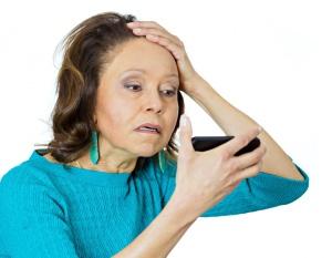 поредение волос в период климакса