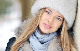 волосы на  морозе