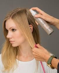 спрей  на чистые  волосы