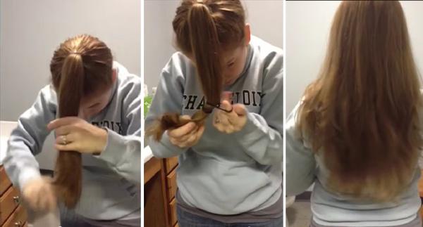 Как сделать короткую стрижку каскад в домашних условиях видео