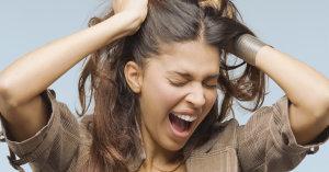 отчаяние при выпадении волос