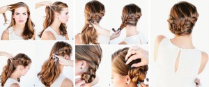 асимметричная коса пошагово