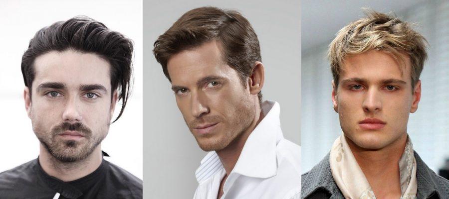 Варианты причесок на средние волосы мужские