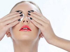 ватные диски на глаза