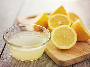Лимонный сок для приготовления маски