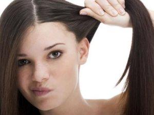 Проблема жирных корней волос
