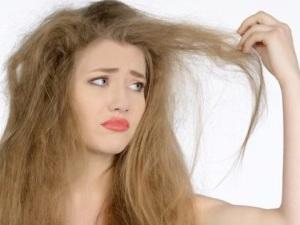Проблема сухой кожи головы и ломких волос